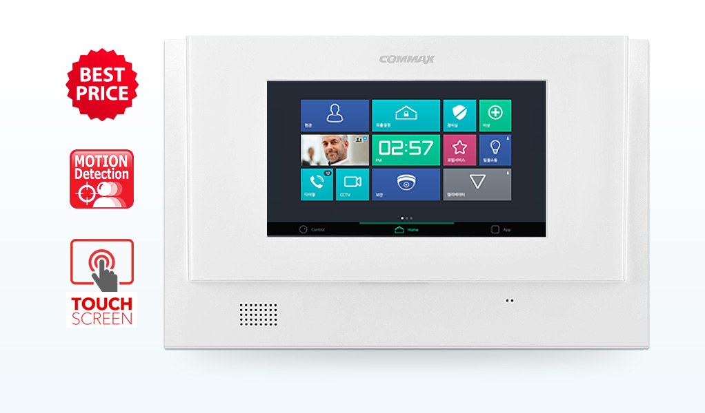 "COMMAX CDV-71UM. ДОМОФОН 7"" С TOUCHSCREEN"