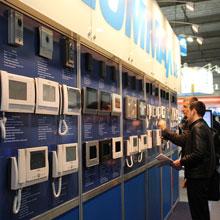 Видеодомофоны Commax на выставке «БЕЗПЕКА 2014»